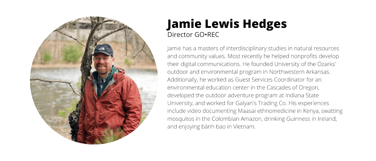 Jamie Lewis Hedges GO•REC Director