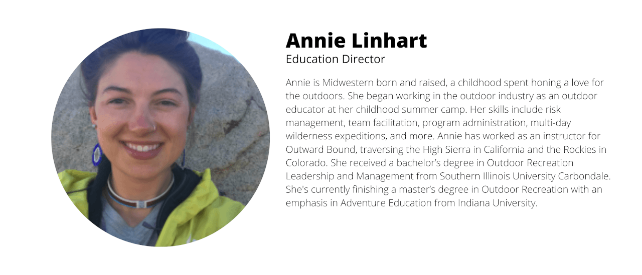 Annie Linhart Education Director
