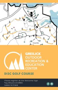 GOREC Disc Golf Map