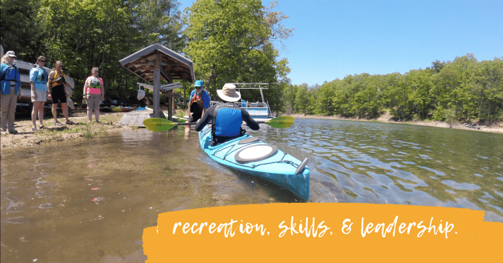 GO•REC offers outdoor certifications